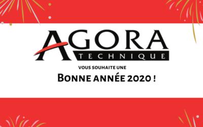 Meilleurs voeux pour l'année 2020 !